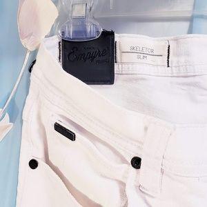 Empyre Jeans - 🆕Empyre Jeans Slim Skelator white jeans size 32🦅